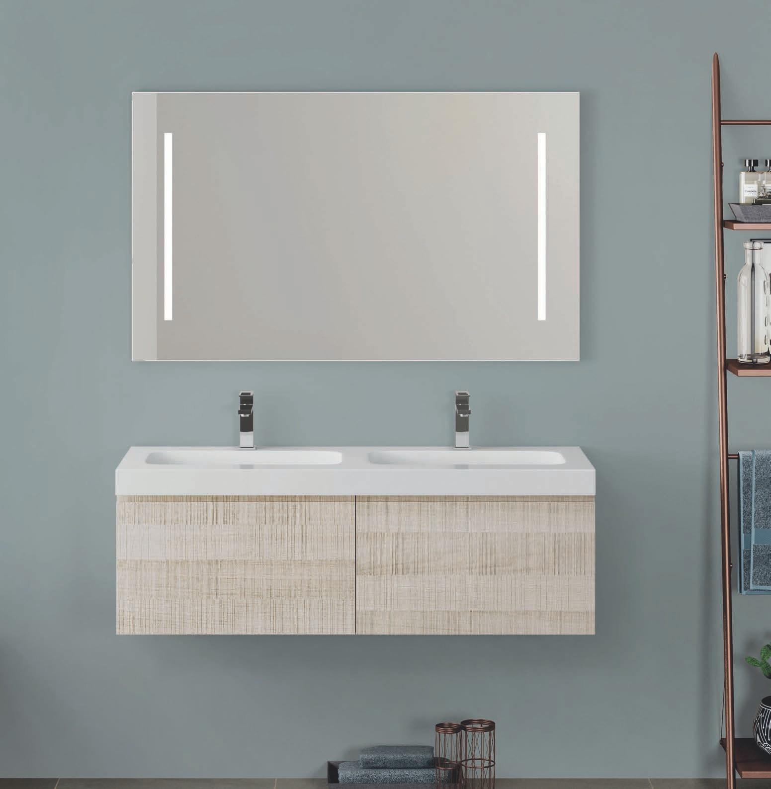 Espejo retroiluminado led sc mobiliario - Espejo retroiluminado bano ...